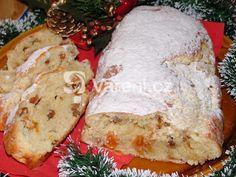 Příprava vánoční štoly je rychlá a opravdu jednoduchá, zvládnou ji i začátečníci. Chutná po másle a po kokosu a nádherně při pečení provoní váš byt. Easter Recipes, Camembert Cheese, Sweet Tooth, Dairy, Bread, Cooking, Food, Advent, Kitchens