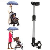 Bike Bicycle Wheelchair Stroller Connector Umbrella Holder Mount Stand