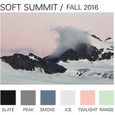 """Fall 2016 Color Trend SOFT SUMMIT"" by boyishaffliction on Polyvore"