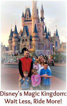 Disney World's Magic Kingdom: Wait Less and Ride More