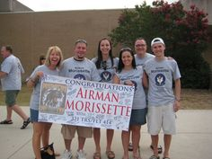 Banners & Signs ~ Everything you need to show  support for your Airman at Graduation! #basictraining #airforce http://afwm.org/pre-grad/banners-signs/