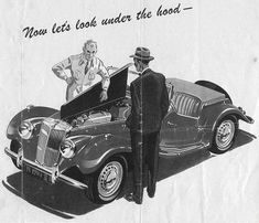 History of the MG TD - The MG T-types Classic Cars Online, History, Vehicles, Historia, Car, Vehicle, Tools