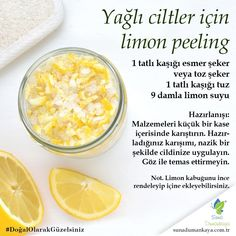 Peeling application provides the oil balance of the skin. If you have an oily skin type, you should Healthy Beauty, Health And Beauty, Beauty Skin, Hair Beauty, Just Beauty, Interesting Information, Diet And Nutrition, Anti Aging, Beauty Hacks