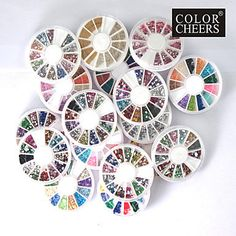 20 PCS Nail Art Decoration Wheels by HighClassNailsss on Etsy