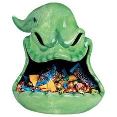 Nightmare Before Christmas Oogie Boogie Candy Dish Bowl MIB in Collectibles, Disneyana, Contemporary Happy Halloween, Halloween Town, Holidays Halloween, Halloween Crafts, Halloween Decorations, Halloween Stuff, Halloween Candy Bowl, Halloween Bathroom, Halloween Dishes