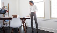5501f7fe43 Straight-Leg | Marsala Dress Pant Yoga Pants Dress Yoga Pants, Black Dress  Pants