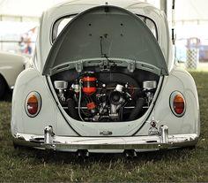 VW Beetle Punch Buggy Nice Engine