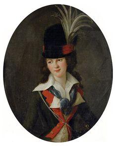 The Athenaeum - Victorienne Delphine Natalie de Rochechouart Mortemart, Marquise de Rouge Élisabeth Vigée-Lebrun - 1788 Painting - oil on canvas