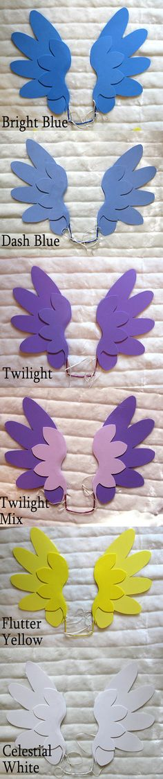 CELESTIAL WHITE Floating PonyAngel Wings by LuckyCrown on Etsy, $14.99