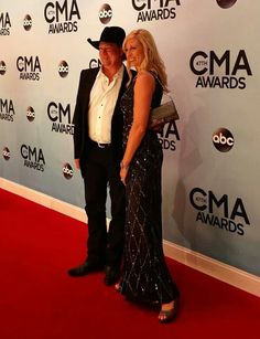 Tracy Lawrence & Wife