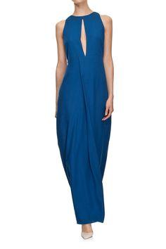 Sukienka maxi INIS grantowa