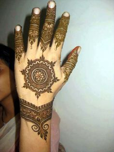 new tickey desighn ~ Mehndi Desighn