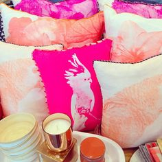 Cushion love! We can't get enough @bonnieandneil  #thehuntedco