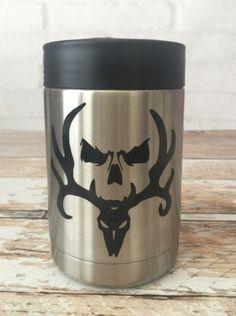 Hunter's Skull on a Yeti beer/soda cooler, Oracle 651 vinyl