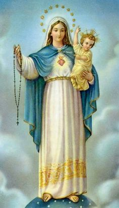 Our Lady Of The Holy Rosary Novena Prayer T his novena is to be said along with a daily rosary. Rosary Novena, Novena Prayers, Catholic Prayers, Catholic Art, Rosary Prayer, Roman Catholic, Religious Art, Praying The Rosary, Holy Rosary