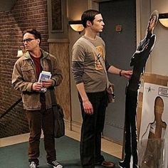 58f9a9a2fdb8 That one time  sheldoncooper ordered a  startrek  standee from us on… Geek