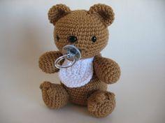 Crochet Baby Bear PDF Pattern от djonesgirlz на Etsy