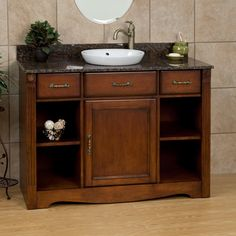 "48""+Carrow+Vanity+for+Semi-Recessed+Sink"