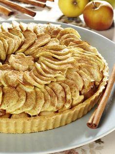 Tarte aux pommes provençale