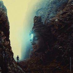 Shiva and Ganga and Me. Rudra Shiva, Mahakal Shiva, Shiva Art, Shiva Statue, Shiva Parvati Images, Lord Shiva Hd Images, Lord Shiva Hd Wallpaper, Krishna Wallpaper, Shiva Linga