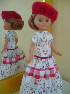 Cosiendo para Nancy fashion.