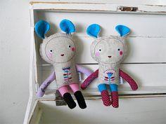 Creatures dolls Fubies / Břichopas toys