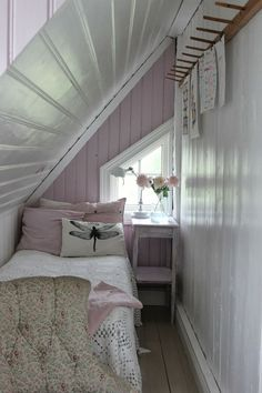 Very Small Attic Bedroom Ideas