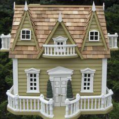 Chalet Birdhouse-this looks like a doll house
