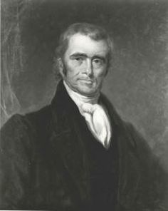 "John Marshall: ""It is also not entirely unworthy of observation, that in declaring what shall be the supreme law of the land, the Constitution itself is first mentioned, and not the laws of the United States generally, but those only which shall be made in pursuance of the Constitution, have that rank...essential to all written constitutions, that a law repugnant to the Constitution is void; and that courts, as well as other departments, are bound by that instrument."""