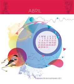 FinxDuvey Calendar 2014 - April