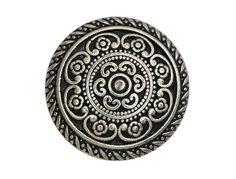 12 Cordes 5/8 inch  16 mm  Metal Buttons von ButtonJones auf Etsy