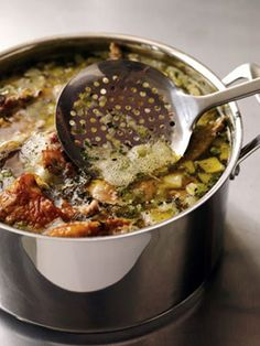 Find the recipe for Turkey Stock and other turkey recipes at Epicurious.com