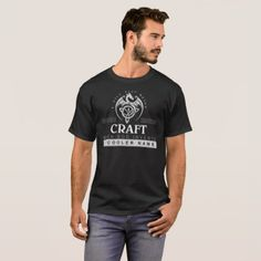 Keep Calm Because Your Name Is CRAFT. This is T-sh T-Shirt - craft diy cyo cool idea
