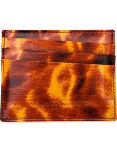 Maison Margiela Tortoise Shell Cardholder - The Webster - Farfetch.com