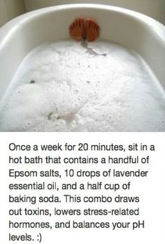 detox bath #Fashion #Beauty #Trusper #Tip