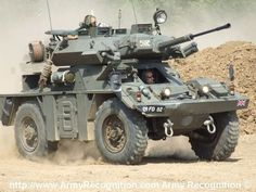 Army - FV721 Scout Car Reconnaissance Ferret. Fox derivative 30mm ...