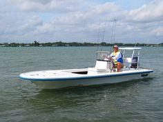 Florida flats skiff.