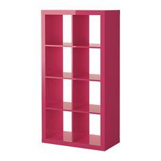 EXPEDIT Hylle - høyglans rosa  - IKEA