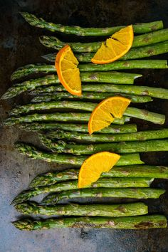 Orange Sesame Roast Asparagus Recipe : Roast asparagus tossed in a fresh orange sesame ginger dressing! Best Asparagus Recipe, Roast Asparagus, Pan Fried Eggplant, Sesame Ginger Dressing, Toasted Sesame Seeds, Peanut Oil, Lentil Recipes, No Cook Desserts, Vegetable Sides