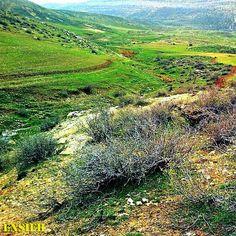 Breathtaking Landscape of Kirmaşan, Iran.