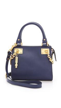 Mini Chain Side Shopper Bag #Handbag #SophieHulme #Fashion