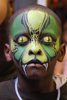 50 Pretty And Scary Halloween Makeup Ideas For kids ...