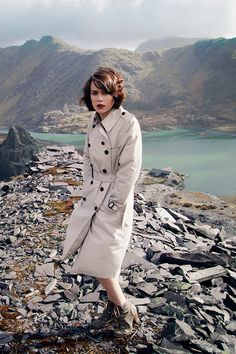 Ruth photographed by Charlotte Simpson in Snowdonia