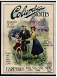 vintage Columbia Bicycle Ad poster Horse Race Game, Horse Racing, Old Candy, Music Machine, Oak Sideboard, Columbia, Old Things, Bicycle, Cars