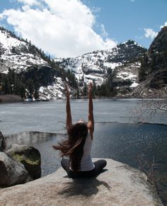 let go, relax and be present… embrace silence and open your arms to the sky.. the universe will provide.. namaste
