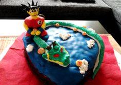 Dragonball Geburtstagskuchen
