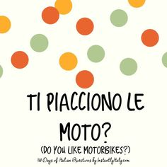 81/100 - 100 Days of Italian Questions on Instagram