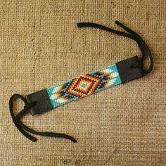 Seed Bead Loom Bracelets | RETURNING MOON Seed Bead Southwestern Native American Style Loom ..