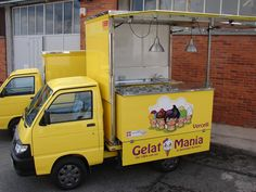 Ape gelato Gelatomania