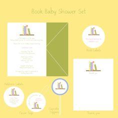 Bring a Book baby shower theme - wonderful idea!